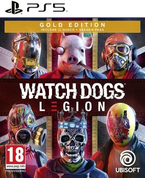 Copertina del gioco Watch Dogs Legion per PlayStation 5