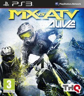 Copertina del gioco MX vs ATV Alive per PlayStation 3