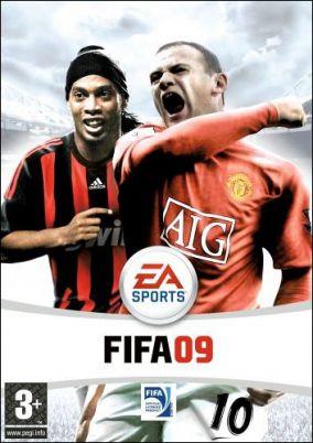 Immagine della copertina del gioco FIFA Soccer 09 All-Play per Nintendo Wii