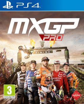Immagine della copertina del gioco MXGP PRO: The Official Motocross Videogame per Playstation 4