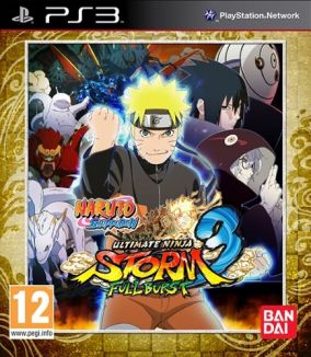Copertina del gioco Naruto Shippuden: Ultimate Ninja Storm 3 Full Burst per PlayStation 3