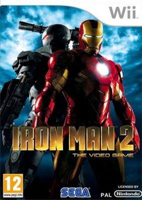 Immagine della copertina del gioco Iron Man 2 per Nintendo Wii