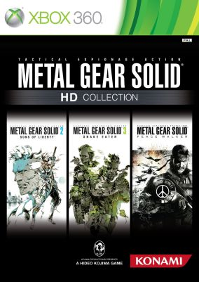Copertina del gioco Metal Gear Solid HD Collection per Xbox 360