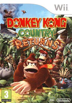 Immagine della copertina del gioco Donkey Kong Country Returns per Nintendo Wii