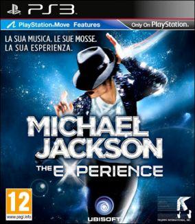 Copertina del gioco Michael Jackson: The Experience per PlayStation 3