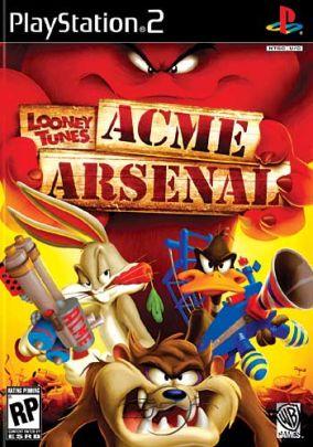 Immagine della copertina del gioco Looney Tunes: Acme Arsenal per PlayStation 2