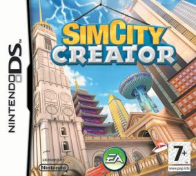 Immagine della copertina del gioco Sim City Creator per Nintendo DS