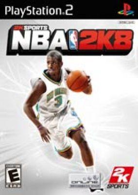 Copertina del gioco NBA 2K8 per PlayStation 2