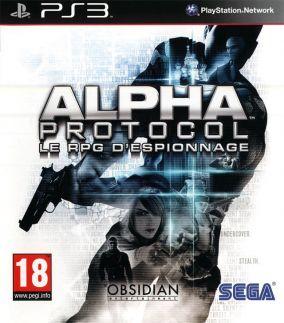 Copertina del gioco Alpha Protocol per PlayStation 3