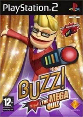 Immagine della copertina del gioco Buzz! The mega quiz per PlayStation 2