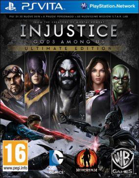 Copertina del gioco Injustice: Gods Among Us Ultimate Edition per PSVITA