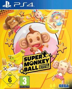 Copertina del gioco Super Monkey Ball: Banana Blitz HD per PlayStation 4