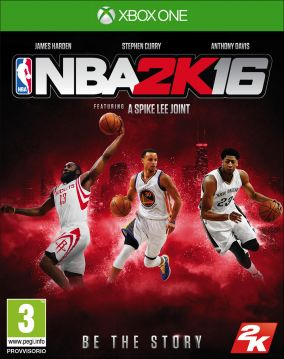 Copertina del gioco NBA 2K16 per Xbox One