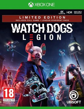 Copertina del gioco Watch Dogs Legion per Xbox One
