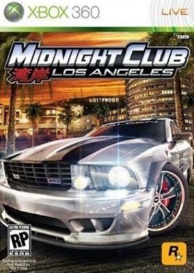 Copertina del gioco Midnight Club: Los Angeles per Xbox 360