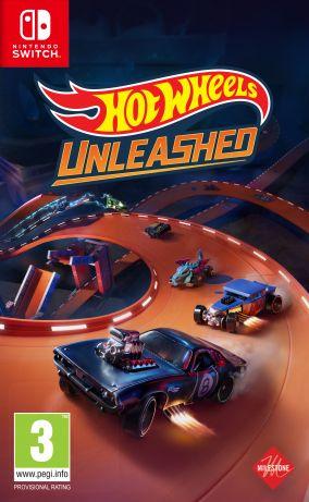 Copertina del gioco Hot Wheels Unleashed per Nintendo Switch
