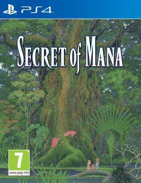Immagine della copertina del gioco Secret of Mana per PlayStation 4