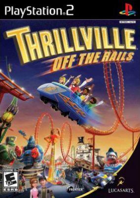 Immagine della copertina del gioco Thrillville: Fuori dai Binari per PlayStation 2