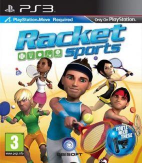 Copertina del gioco Racket Sports per PlayStation 3