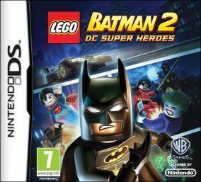 Copertina del gioco LEGO Batman 2: DC Super Heroes per Nintendo DS