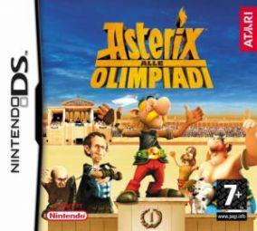 Immagine della copertina del gioco Asterix alle olimpiadi per Nintendo DS