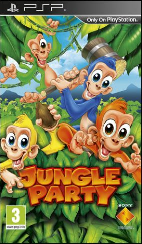 Copertina del gioco Jungle Party per Playstation PSP