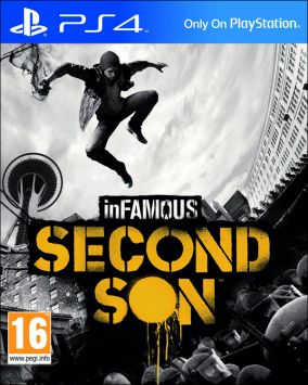 Immagine della copertina del gioco inFamous: Second Son per PlayStation 4