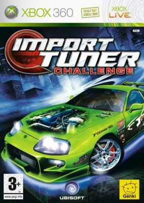 Copertina del gioco Import Tuner Challenge per Xbox 360