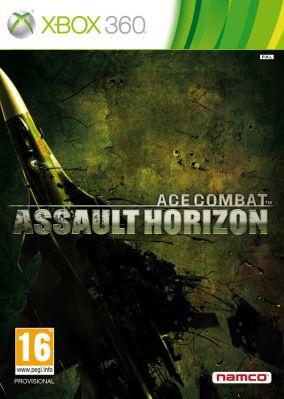 Copertina del gioco Ace Combat: Assault Horizon per Xbox 360