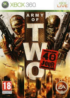 Copertina del gioco Army of Two: 40 Day per Xbox 360