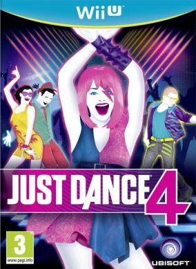 Immagine della copertina del gioco Just Dance 4 per Nintendo Wii U