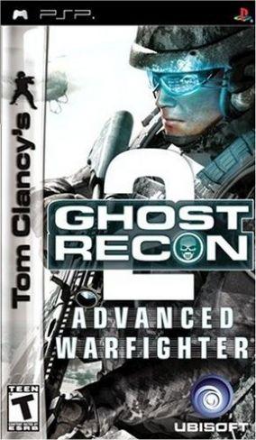 Immagine della copertina del gioco Ghost Recon Advanced Warfighter 2 per PlayStation PSP
