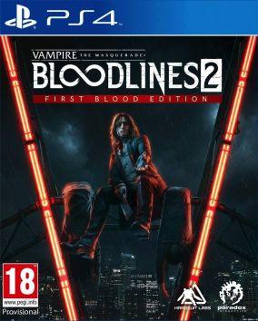 Copertina del gioco Vampire: The Masquerade - Bloodlines 2 per PlayStation 4