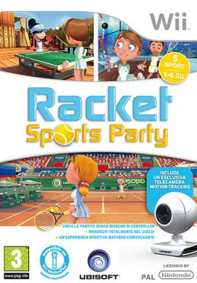 Immagine della copertina del gioco Racket Sports Party per Nintendo Wii