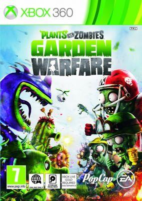 Immagine della copertina del gioco Plants Vs Zombies Garden Warfare per Xbox 360