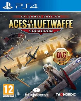 Copertina del gioco Aces of the Luftwaffe per PlayStation 4