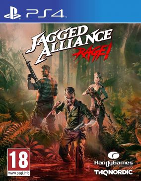 Copertina del gioco Jagged Alliance: Rage per PlayStation 4