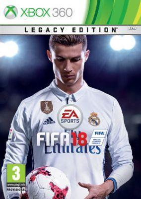 Copertina del gioco FIFA 18 per Xbox 360
