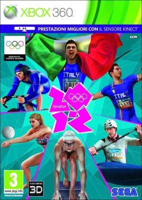 Copertina del gioco London 2012 - Il Videogioco Ufficiale dei Giochi Olimpici per Xbox 360