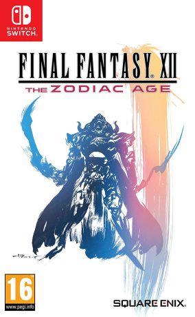 Copertina del gioco Final Fantasy XII: The Zodiac Age per Nintendo Switch