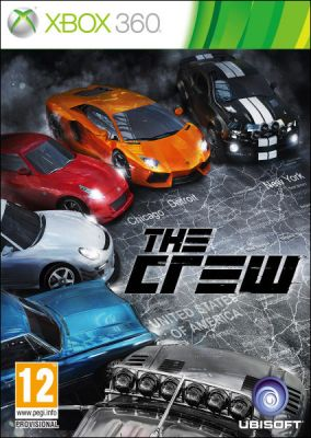 Copertina del gioco The Crew per Xbox 360