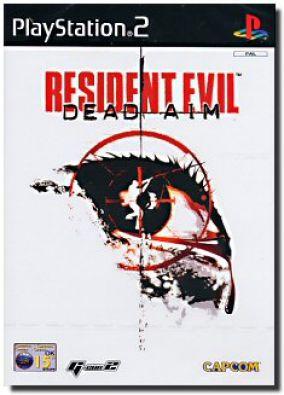 Immagine della copertina del gioco Resident Evil Dead Aim per PlayStation 2