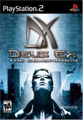 Copertina del gioco Deus ex per PlayStation 2