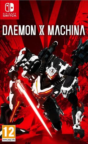 Copertina del gioco Daemon X Machina per Nintendo Switch