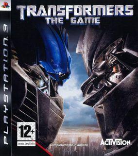 Immagine della copertina del gioco Transformers: The Game per Playstation 3