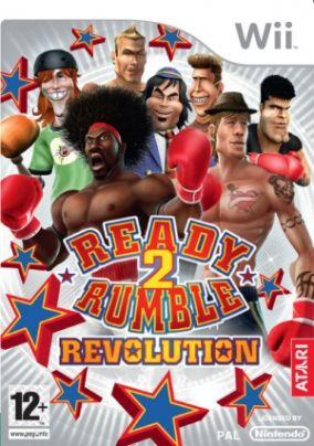 Immagine della copertina del gioco Ready 2 Rumble: Revolution per Nintendo Wii