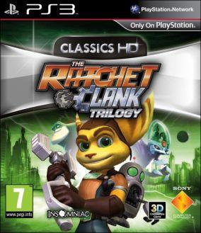 Copertina del gioco Ratchet & Clank Trilogy per PlayStation 3