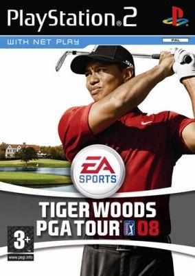 Immagine della copertina del gioco Tiger Woods PGA Tour 08 per PlayStation 2