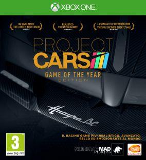 Immagine della copertina del gioco Project CARS Game Of The Year Edition per Xbox One