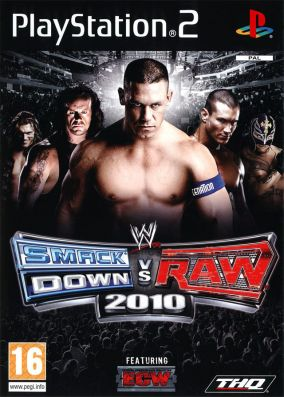 Copertina del gioco WWE SmackDown vs. RAW 2010 per PlayStation 2